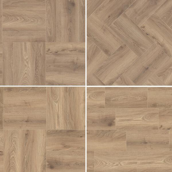Laminatova podlaha K285 DUB HAYBRIDGE KROTET-K285A0
